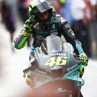 """Valentino Rossi soñó con volver a un podio de MotoGP: """"He dicho que me retiro, no que me rinda"""""""