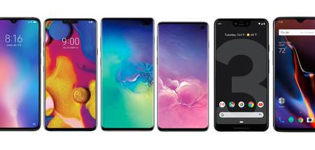Samsung Galaxy S10 y S10+, comparativa: así quedan contra Xiaomi Mi 9, Mate 20 Pro, Pixel 3 XL y resto de gama alta de Android