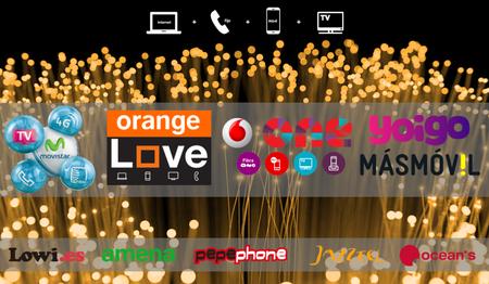 Así quedan las nuevas Fusión de Movistar frente Lowi, Amena, Vodafone One, Orange Love, Yoigo y MÁSMÓVIL