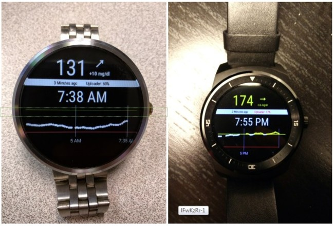 Android Wear Glucose