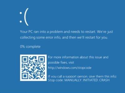 Microsoft introduce un código QR en su clásica pantalla azul de error en Windows