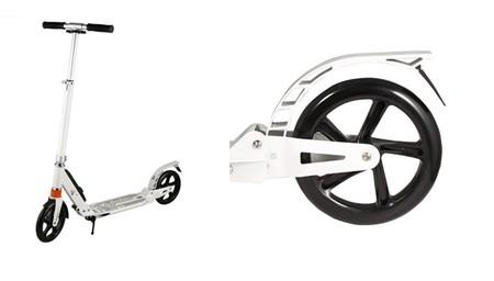 Cupón de 20 euros de descuento en el patinete scooter plegable Cooshional: aplicándolo cuesta 59,99 euros en Amazon