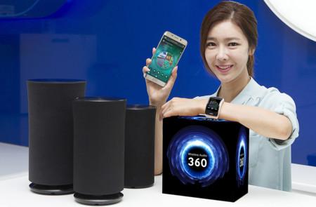 Samsung tiene listos tres nuevos altavoces omnidireccionales para el IFA 2015