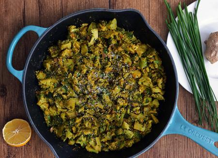 Sartén de brócoli