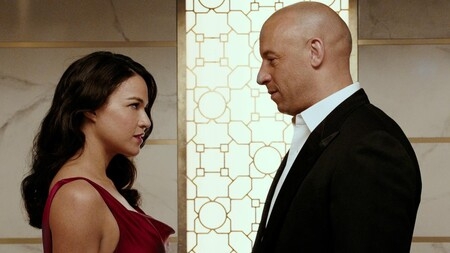 Fast And Furious Vin Diesel Dom Michelle Rodriguez Lety
