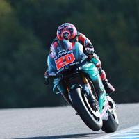 Fabio Quartararo no ha sido el piloto más joven con un podio de MotoGP por culpa de la caja de cambios