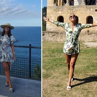 Paula Echevarría tiene los vestidos con los estampados más bonitos del verano y sabemos dónde puedes encontrarlos (muy) parecidos