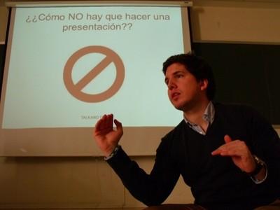 """Eduardo de Talk and Talk: """"que los niños practiquen la oratoria les ayuda a ser responsables, organizados y maduros"""""""