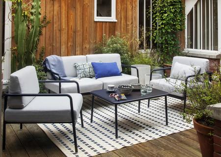 Muebles de exterior prácticos; o cómo tener un salón en la terraza que se puede recoger cuando no se usa