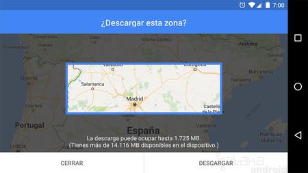 Cómo descargar los mapas de Google Maps en tu Android para usarlos sin conexión