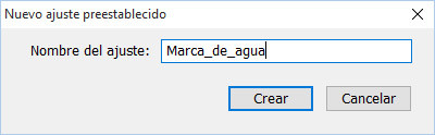 Marcas de agua en Adobe Lightroom