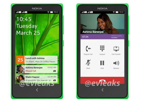 Interfaz de Nokia Normandy
