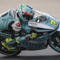 Dennis Foggia bate por 13 milésimas a Pedro Acosta en las primeras pruebas de Moto3 en Misano