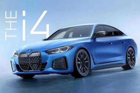 ¡Filtrado! El BMW i4 M50, la versión más bestia de la berlina eléctrica, aparece fugazmente en redes sociales antes de tiempo