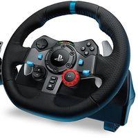 Prime Day: las carreras más realistas las tendrás con el volante G29 de Logitech por sólo 199,99 euros