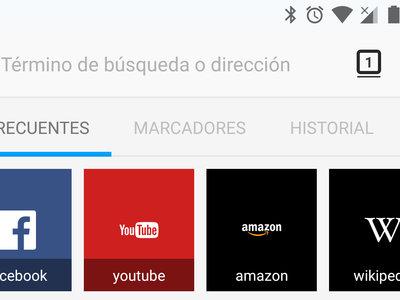 Así es la nueva interfaz Photon de Firefox que ya puedes probar en tu Android