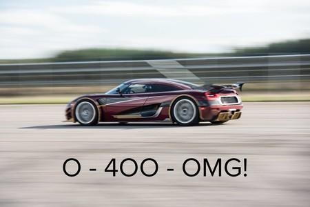 ¿Ha mejorado el Koenigsegg Agera RS el 0-400-0 del Bugatti Chiron? Todo parece indicar que sí