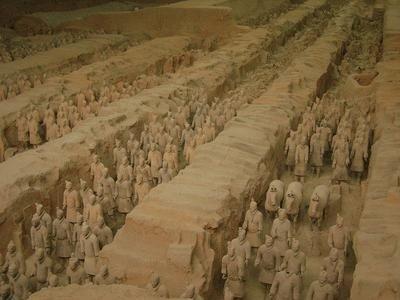 Xian y los guerreros de terracota