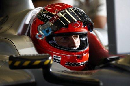 Michael Schumacher continúa sin entender los neumáticos