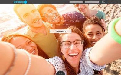 Los jóvenes que no tienen muchas ganas de bancos pueden apuntarse al PlayBanking de Keepunto