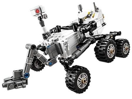 Ya se puede adquirir en Lego el juguete que reproduce la nave Curiosity de la NASA que se aprobó en Cuusoo