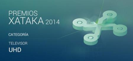 Mejor televisor UHD: vota en los Premios Xataka 2014