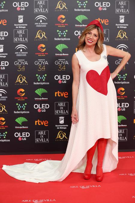 Pilar Ordoñez goya 2020