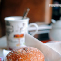 Receta de donuts rellenos de mermelada con masa madre