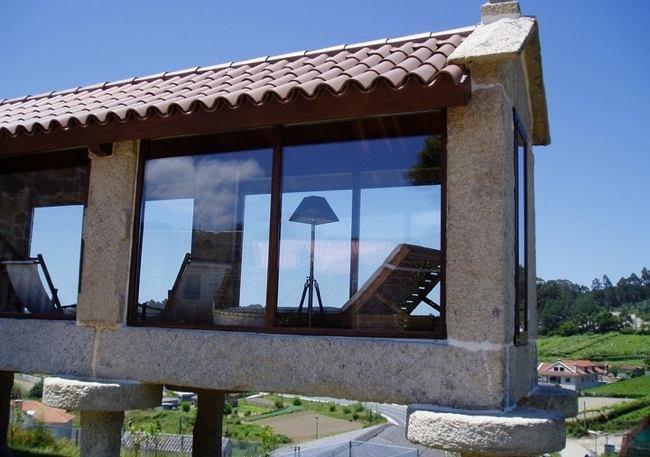 Hórreo terraza