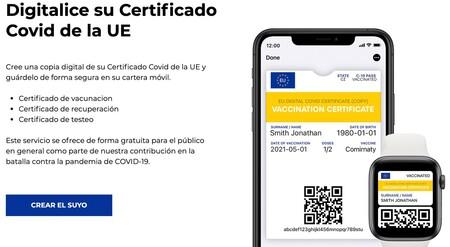 Certificado Covid Google Pay Apple Pay