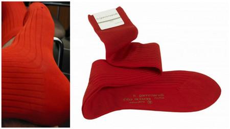 calcetines rojos gammarelli