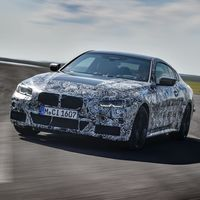 El BMW Serie 4 2021 se acerca y ya coquetea con la cámara, aunque todavía con camuflaje