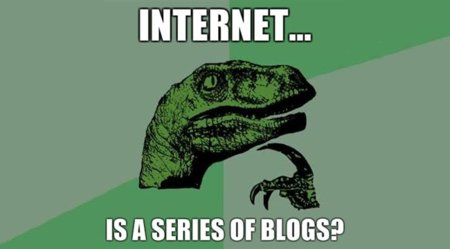 Internet is a series of Blogs (CIII)