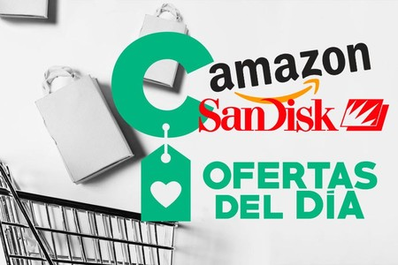 5 ofertas del día de Amazon en almacenamiento SanDisk