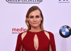 ¡Tres hurras por Diane Kruger! La espectacular mujer de rojo de los German Film Awards