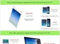 Ya podemos ver las promociones del Black Friday en Apple, y no son como las de otros años