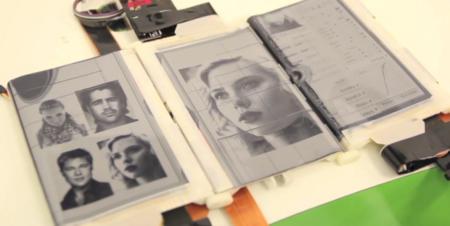 Paperfold, tres pantallas de tinta electrónica que funcionan de forma autónoma o combinada