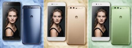 El Huawei P10 presume de nuevos colores y lector de huellas frontal en su última filtración