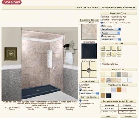 diseña tu baño con rebath después