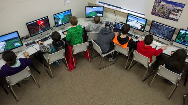 Minecraft Aula