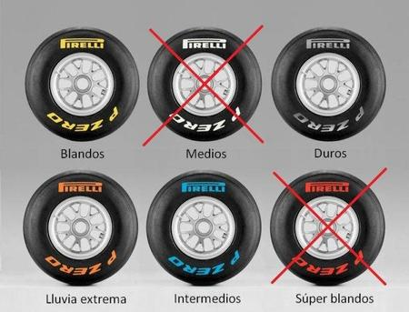 GP de China F1 2011: compuestos elegidos por Pirelli