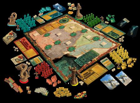 'Mezo': el juego de mesa basado en la cultura maya en el que tribus conquistan territorios con ayuda de dioses y sacrificios
