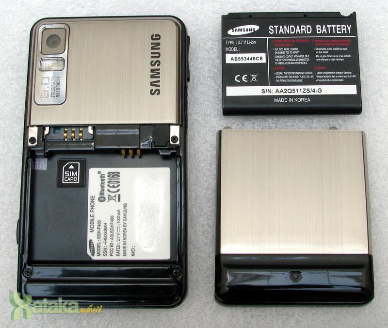 Foto de Samsung F480, análisis (3/9)