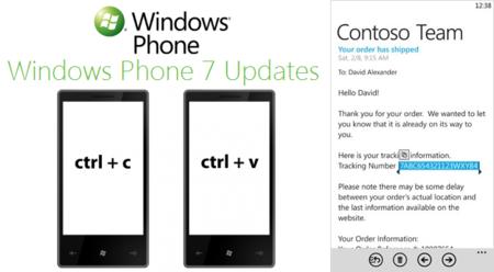 Microsoft desvela los detalles de la primera actualización de Windows Phone 7