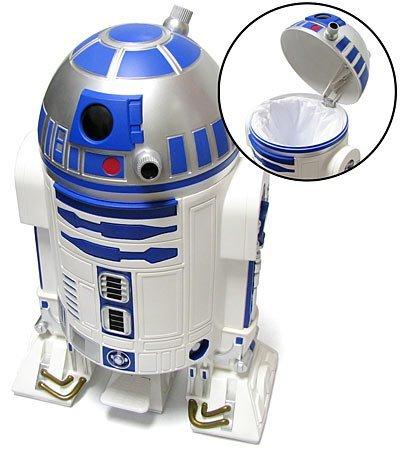 R2-D2 como cubo de basura