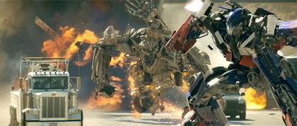 Impresionantes fotos de 'Transformers'
