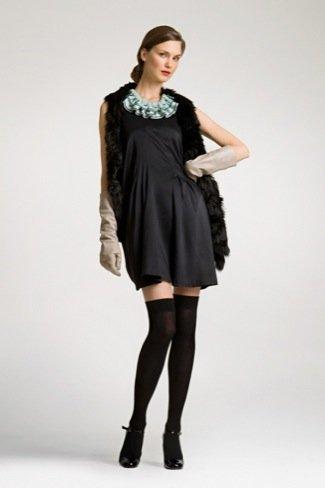 Lookbook Uterque Navidad 2010: vestidos de fiesta