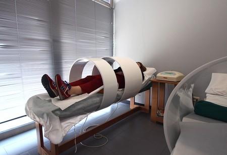resonancia magnética prostática con bobina tr con estudio mujer
