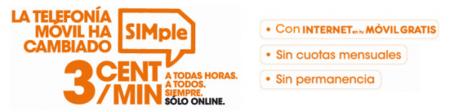Euskaltel le da una vuelta a su tarifa SIMple bajando su precio a tres céntimos por minuto a cambio de mayor consumo mínimo
