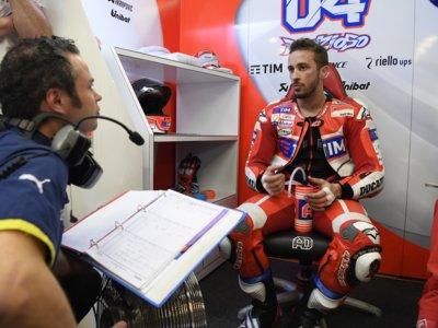 Otro hueco ocupado: Andrea Dovizioso seguirá en Ducati y será el compañero de Jorge Lorenzo